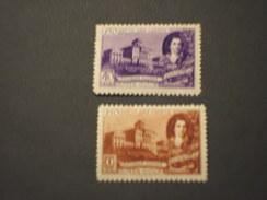 RUSSIA - 1949 ARCHITETTO 2 VALORI - NUOVI(+)