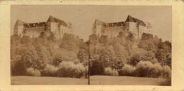 PHOTO  STEREOSCOPIQUE -    CHATEAU DE GREEN,  Habité Par Le Prince Pevoïne ?  ( Danube )  Fin 1800 - Photos Stéréoscopiques