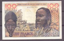 AOF Ivory Coast 100 Fr 1964  VF - États D'Afrique De L'Ouest