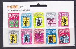Nederland 2009 Decemberzegels 10x (zelfklevend)  ** Mnh (34972) @ Face Value - Neufs