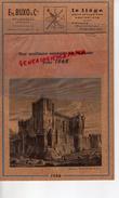 47 - LAVARDAC - MAGNIFIQUE CALENDRIER ETS. BUXO  LIEGE ET FEUILLE DE LIEGE - 1968- ESPAGNE- CHATEAU COCA-CORDOUE-MADRID - Calendriers