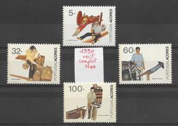 Métiers Travail Artisanat - Açores N°401 à 404 1990 ** - Berufe