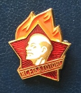 Young Pioneers Badge,. Russia - Administrations