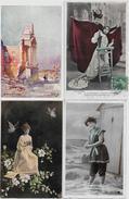 Lot N° 67 De 100 CPA Fantaisies Illustrateurs Déstockage Pour Revendeurs Ou Collectionneurs  PORT GRATUIT FRANCE - 100 - 499 Karten