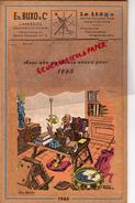 47 - LAVARDAC -MAGNIFIQUE CALENDRIER ETS. BUXO LIEGE ET FEUILLE DE LIEGE - 1965- DON QUIJOTE-DON QUICHOTTE - Big : 1961-70