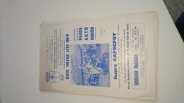 Programme Haute Voltige Auto Moto Calais 1966 Vespa Club - Publicités