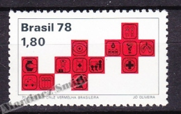 Bresil - Brazil - Brasil 1978 Yvert 1349, 70th Anniversary Of The Brazilian Red Cross - MNH - Brésil