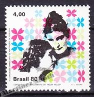 Bresil - Brazil - Brasil 1980 Yvert 1436, Helen Keller 100th Anniversary Of Birth  - MNH - Brasil