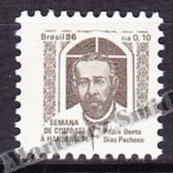 Bresil - Brazil - Brasil 1986 Yvert 1817, Surcharge For The Fight Against Leprosy Week - MNH - Brasil