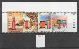 Poste Boîte à Lettres - Inde N°1871 & 1874 2005 ** - Poste