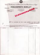 47 - LAVARDAC - FACTURE BUXO - USINE MODELE POUR LA FABRICATION BOUCHONS LIEGE- - Big : 1961-70