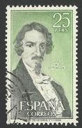Spain, 25 P. 1972, Sc # 1699, Used - 1971-80 Oblitérés