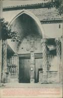 31/AURIGNAC, Nartex Et Porte De L'Eglise (XVe Siècle) - France