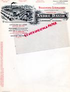 47 - LAVARDAC - BELLE FACTURE ANDRE DAVID- MANUFACTURE BOUCHONS LIEGE STERILISES- - Calendriers