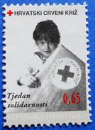 CROATIA CHARITY MNH STAMP 0,65 Kn.1996 RED CROSS SOLIDARITY - Croatie