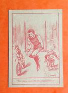 Versailles Vincennes Chromo Devinette Illustrateur Lampuré Jockkey Cycliste Vélo Cheval - Trade Cards
