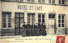 Carte Postale Ancienne De OSNES Le VAL - Autres Communes