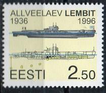 PIA - ESTONIA - 1996 : 60° Anniversario Della Messa In Servizio Del Sottomarino Lembit -   (Yv 278) - Submarines