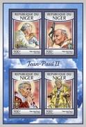 Niger 2016, Pope J. Paul II, 4val In BF