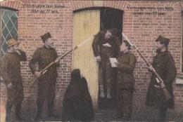 Belgique - Militaria Camp De Beverloo - Artillerie - Pendu Jeune Fille 77 Ans - Cachets 1919 Leopoldsburg Hennuyères - Leopoldsburg (Kamp Van Beverloo)