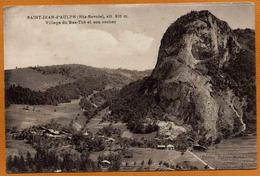74 / SAINT-JEAN D'AULPH - Village Du Bas-Thé Et Son Rocher (St-Jean D'Aulps) - Saint-Jean-d'Aulps