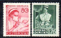 XP2507 - POLONIA 1953 , Yvert N.  718/719  ***  MNH