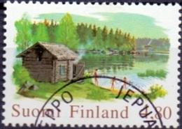 Finland 1999 4.80mk Sauna GB-USED - Finland