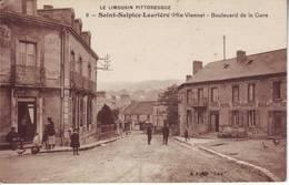 SAINT SULPICE LAURIERE Haute Vienne Carte Boulevard De La Gare - France