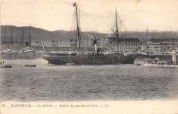 13 - BOUCHES DU RHONE - MARSEILLE - La Joliette - Arrivier Du Courrier De La Corse