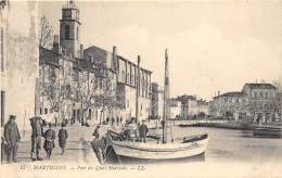 13 - BOUCHES DU RHONE - MARTIGUES - Port Du Quai Marceau - Martigues