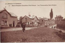 SAINT SULPICE LAURIERE Haute Vienne Carte LES MAISONETTES SAINT SULPICE - France