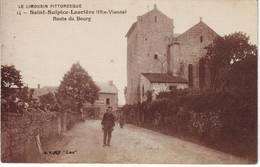 SAINT SULPICE LAURIERE Haute Vienne Carte ROUTE DU BOURG - France