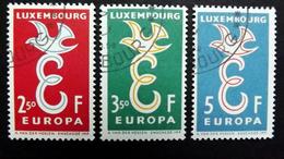 Luxemburg 590/2 Oo/used, EUROPA/CEPT 1958