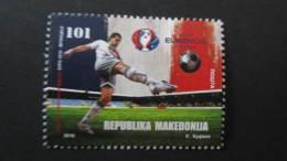 Macedonia Mazedonien 2016  MNH ** Ma 729 UEFA European Football Championship 2016 - France M