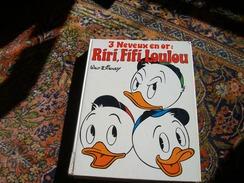 3 Neveux En Or Donald Edi-monde Le Livre De Paris Hachette 1978 Duck Walt Disney Picsou Riri Fifi Loulou Carl Barks - Donald Duck