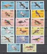 Anguilla 1987,17V,ovpt 20 Years Of Progress 1967-1987,birds,vogels,vögel,oiseaux,pajaros,uccelli,MH/Ongebruikt,(A3175) - Oiseaux