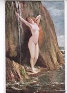 """NU_NUE_NUS_NUDE_NAKED WOMAN-NUDI ARTISTICI-""""La Source"""" H.GERVEX Pinxit-Original D'epoca 100%- - Pittura & Quadri"""