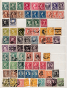 Collection Of Early USA Stamps - Etats-Unis