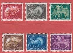 1954 ** (sans Charn., MNH, Postfrisch)  Yv  484/9    Mi  525/30