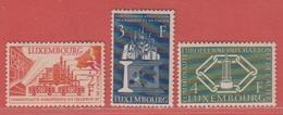 1956 ** (sans Charn., MNH, Postfrisch)  Yv  511/3    Mi  552/4
