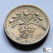 Gran Bretaña - 1 Pound - 1984 - 1 Pound