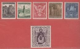 1947 ** (sans Charn., MNH, Postfrisch)  Yv  392/7    Mi  417/22