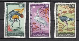 Mauritania Mauretanie 1967,3V,set,birds,vogels,vögel,oiseaux,pajaros,uccelli,aves,MNH/Postfris,(A3178) - Zonder Classificatie