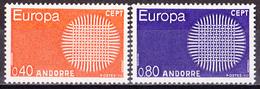 Franz. Andorra - Mi.Nr. 222 - 223 - Postfrisch MNH - Europa CEPT