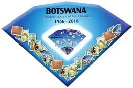 Botswana - 2016 World Post Day MS (**)