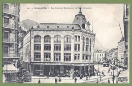 CPA  - ISÈRE - GRENOBLE - LES GALERIES MODERNES ET LA PLACE GRENETTE - Animation - Galeries Modernes / 100 - Grenoble