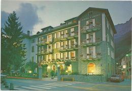 T3074 Bormio (Sondrio) - Hotel Albergo San Lorenzo - Auto Cars Voitures / Non Viaggiata - Italia