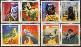 CROATIA - HRVATSKA - RS KRAJINA - PETS - CATS - DOGS - BIRDS - **MNH - 1997