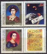 CROATIA - HRVATSKA - RS KRAJINA -Einstein WOMEN + FORMULA - EUROPA  CEPT - **MNH - 1997