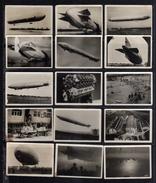 Zeppelin - 33 Bonitas Minipostales (fotos) - Tamaño Real  - 6 Ctm. X 4,2 Ctm. - 01 - 02 - 03 - Zeppelins